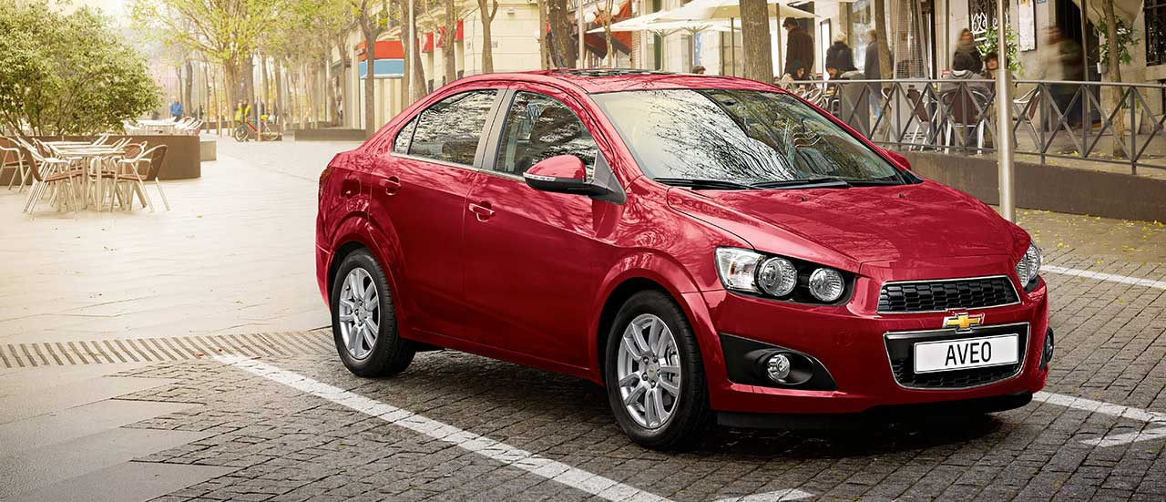 Chevrole Aveo 4 porte, una piccola city car
